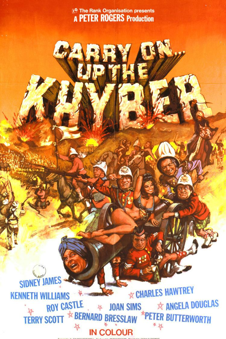 Carry On Up the Khyber wwwgstaticcomtvthumbmovieposters41649p41649