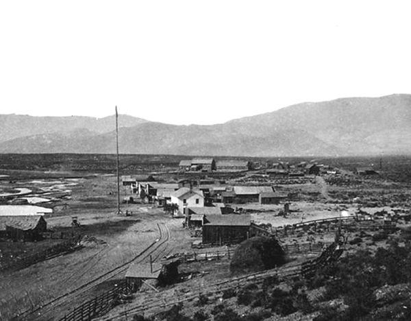 Carson City, Nevada in the past, History of Carson City, Nevada