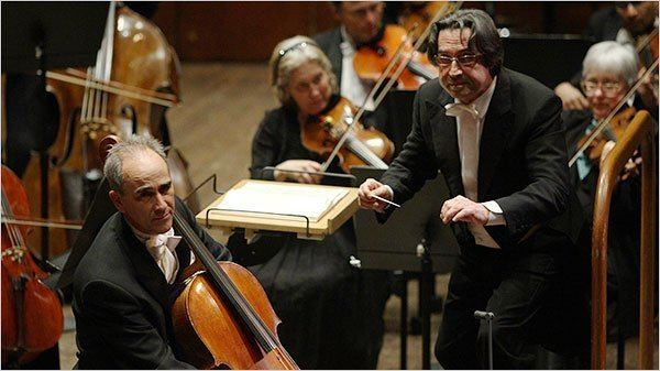 Carter Brey The New York Philharmonic With Riccardo Muti and Carter