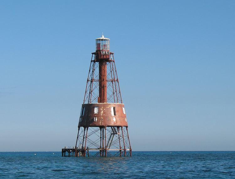 Carysfort Reef Light THE CAPE COD STORECOM39S LIGHTHOUSE ENCYCLOPEDIACARYSFORT REEF FL