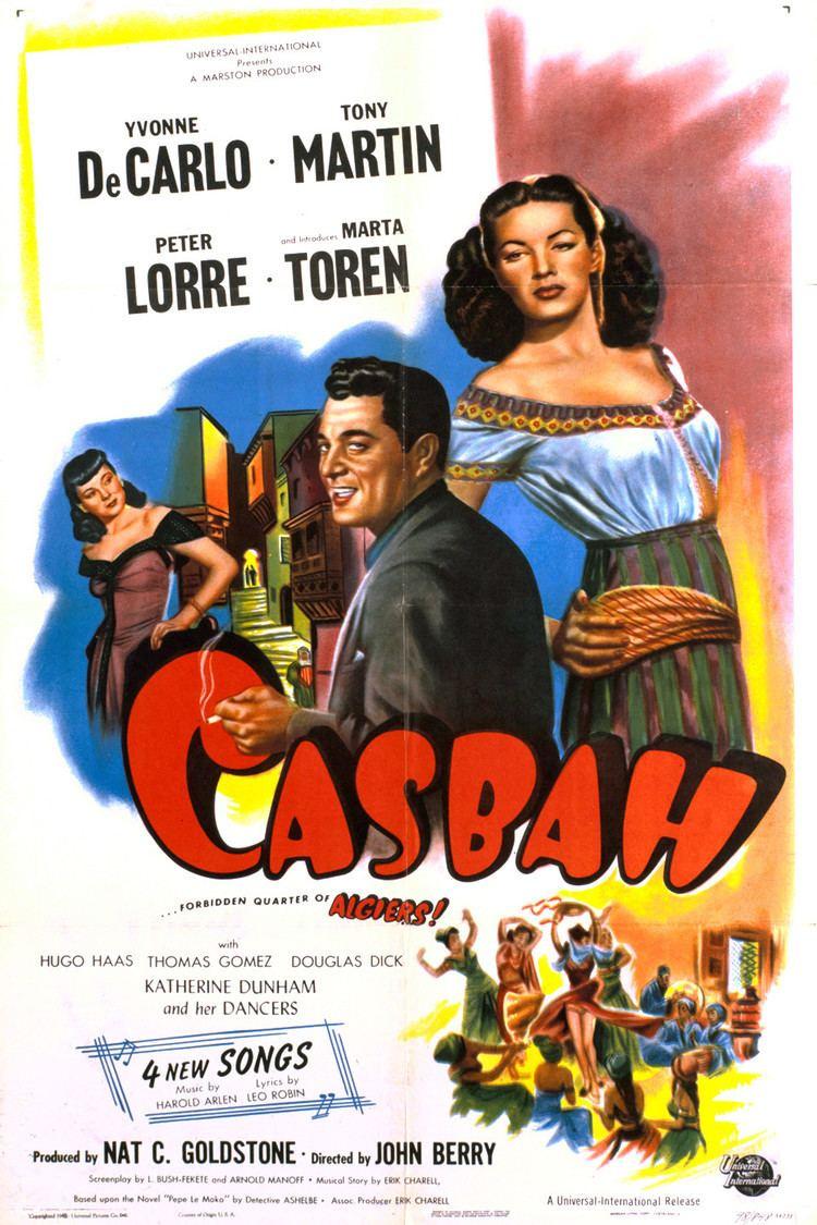Casbah (film) wwwgstaticcomtvthumbmovieposters37637p37637