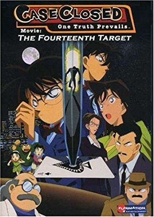 Case Closed: The Fourteenth Target Amazoncom Case Closed Movie 14th Target Detective Conan Movies