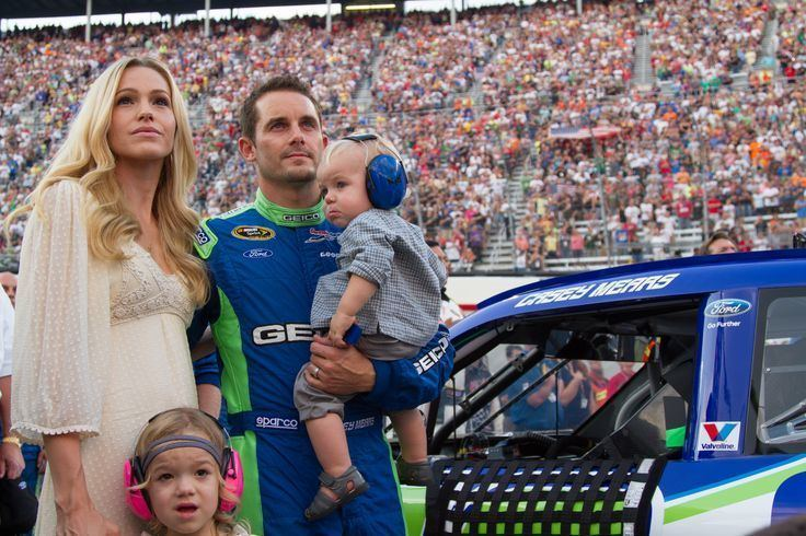 Casey Mears NASCAR driver Casey Mears was the 2012 IrwinToolsNightRace Pole