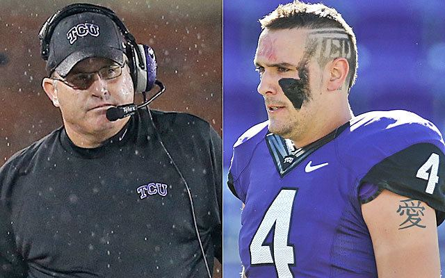Casey Pachall TCU Pachall have had their share of troubles but things