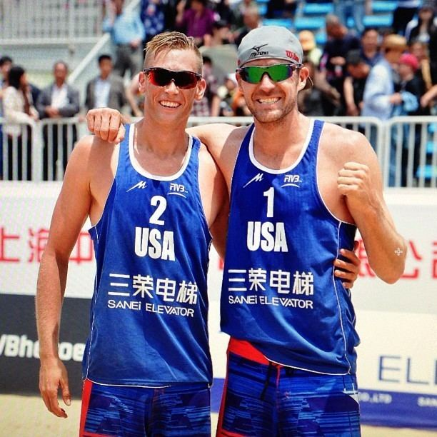 Casey Patterson (beach volleyball) Casey Patterson amp Jake Gibb Beach Volleyball Player