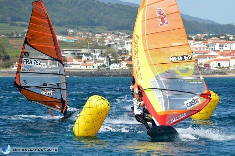 Casper Bouman Windsurfer Casper Bouman 8e op WK Formula windsurfenVaren Telegraafnl