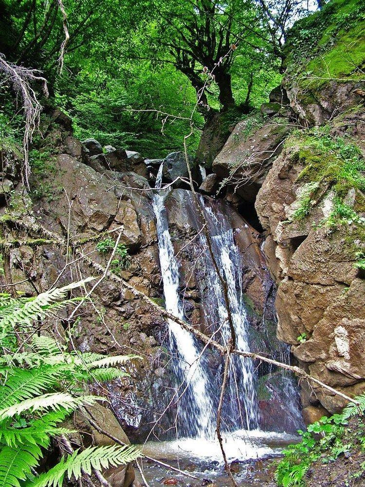 Caspian Hyrcanian mixed forests Panoramio Photo of Waterfall Gilan province The Caspian