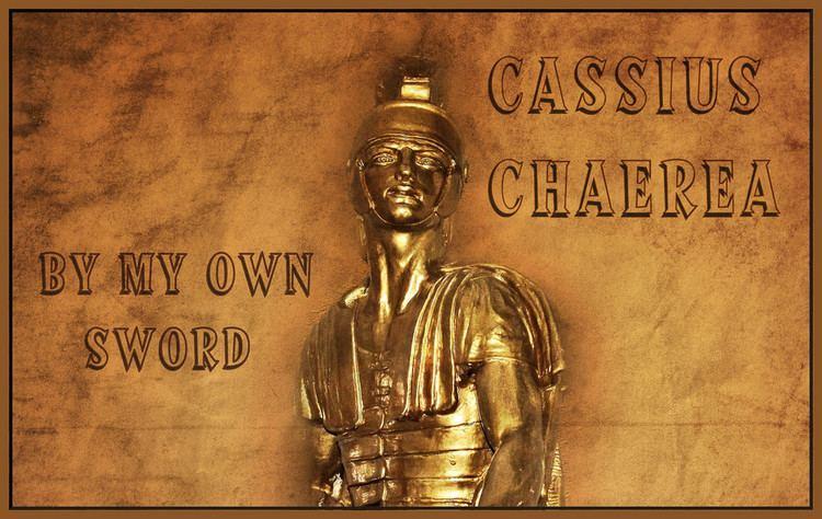 Cassius Chaerea cassius chaerea Cassius Chaerea died 41 was a centurion Flickr