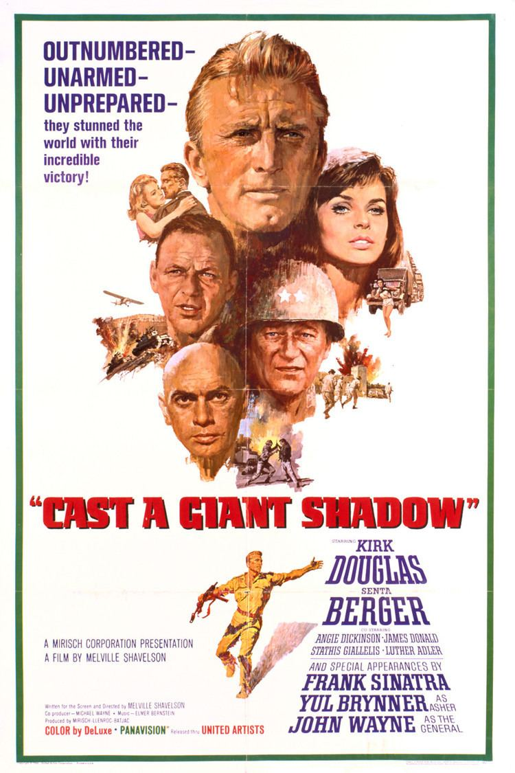 Cast a Giant Shadow wwwgstaticcomtvthumbmovieposters3299p3299p