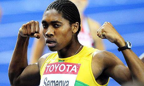 Caster Semenya Caster Semenya wins 800m gold but cannot escape gender