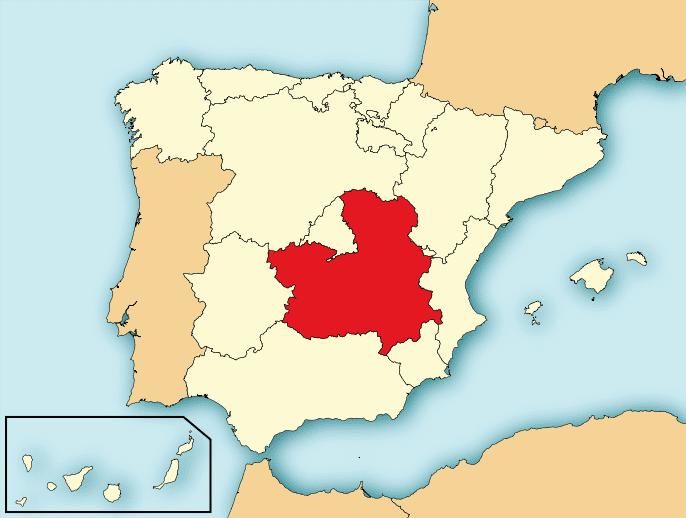 Castilla La Mancha in the past, History of Castilla La Mancha