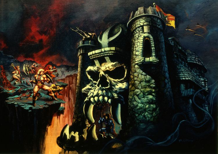 Castle Grayskull Castle Grayskull Location Comic Vine