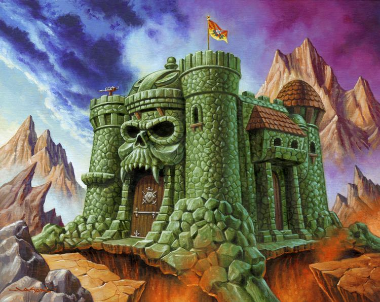 Castle Grayskull Castle Grayskull and Snake Mountain Print Set