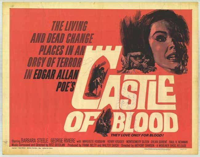 Castle of Blood The Bloody Pit The Bloody Pit 26 CASTLE OF BLOOD and WEB OF THE