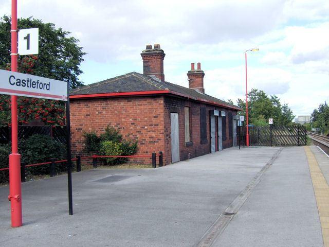 Castleford railway station Castleford Railway Station David Ward Geograph Britain and Ireland