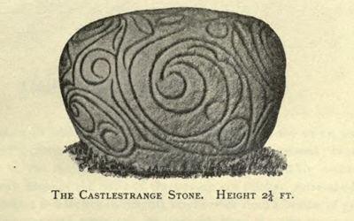 Castlestrange Stone Castlestrange Rock Art The Megalithic Portal and Megalith Map
