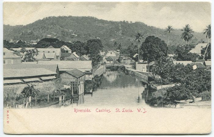 Castries in the past, History of Castries