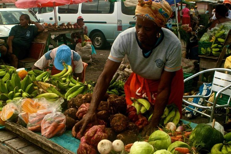 Castries Market Market Report Chef Xavier Ribot St Lucia Castries Market