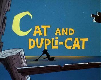Cat and Dupli cat movie poster