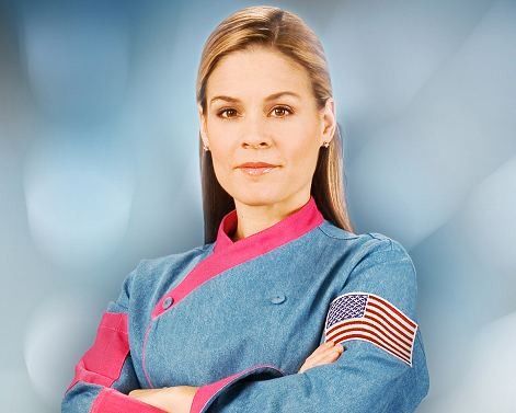 Cat Cora Cat Cora and partner talk hormones with quotLife and Style