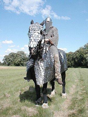 Cataphract riding a big horse