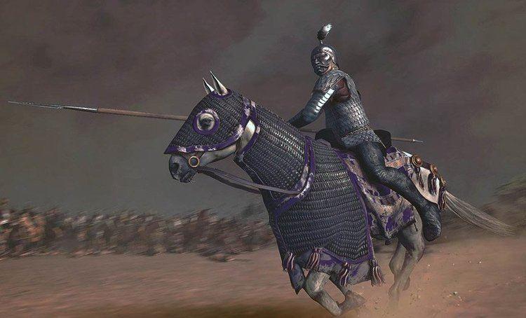 Cataphract riding a horse