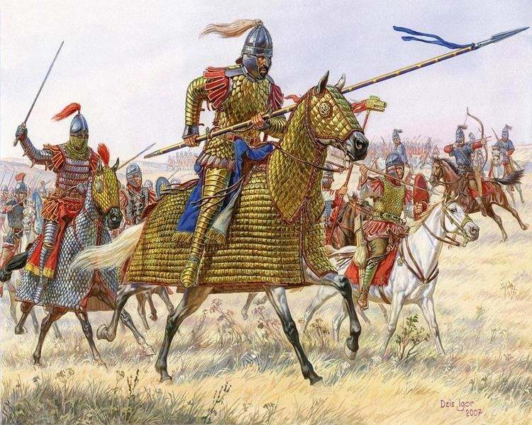 Roman Cavalries getting ready for the fight