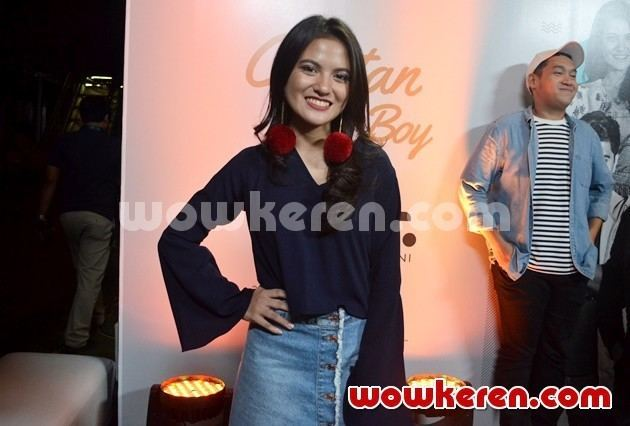 Catatan Si Boy: The Series Foto Marsha Aruan di Konferensi Pers 39Catatan Si Boy The Series