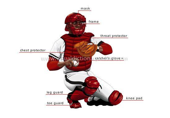 Catcher SPORTS amp GAMES BALL SPORTS BASEBALL CATCHER image Visual