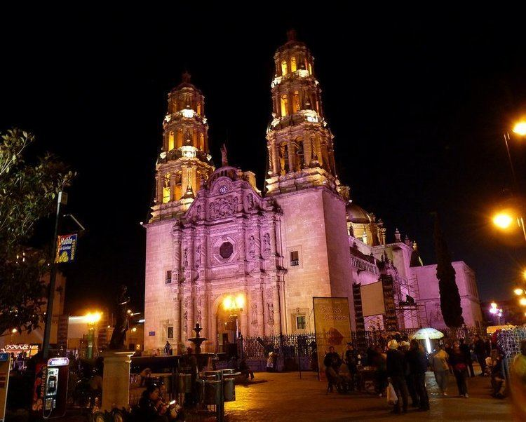 Cathedral of Chihuahua Chihuahua Cathedral under lights Photo