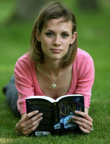 Catherine Banner Teenager who wrote her first book when she was 14 is