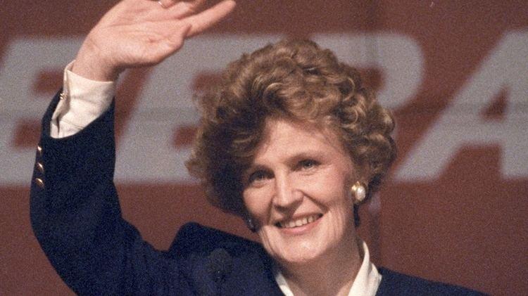 Catherine Callbeck First elected female premier denies being 39trailblazer