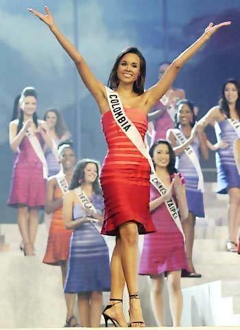 Catherine Daza Final Event Miss Universe candidate Catherine Daza of