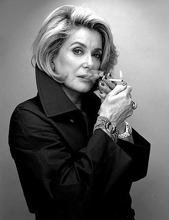 Catherine Deneuve catherinedeneuve Feather Factor