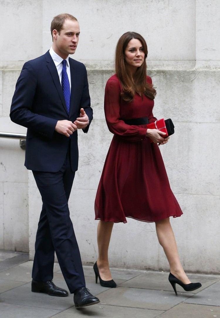 Catherine, Duchess of Cambridge catherineduchesscambridgeleavesnationalportraitgalleryherhusbandprincewilliamjpg