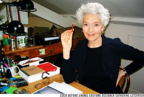 Catherine Leterrier Paper Mag Interviews Coco Before Chanel Costume Designer Ruby Hornet