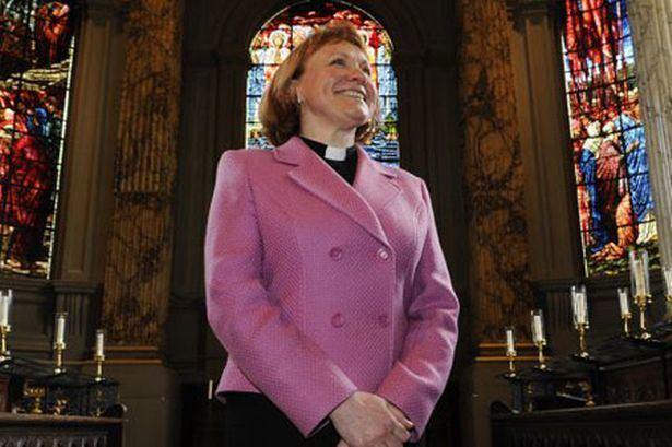 Catherine Ogle A very modern dean at Birmingham Cathedral Birmingham Post