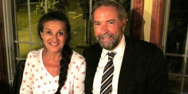 Catherine Pinhas Catherine Pinhas Wife Of NDP Leader Thomas Mulcair Opens Up About