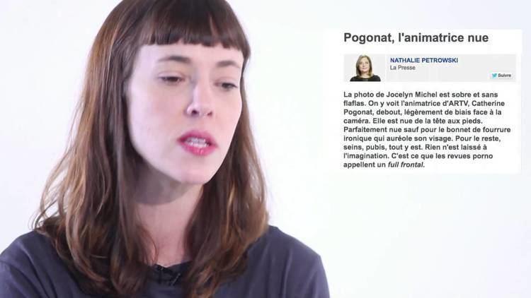 Catherine Pogonat Entrevue avec Catherine Pogonat Je suis pudique mais je