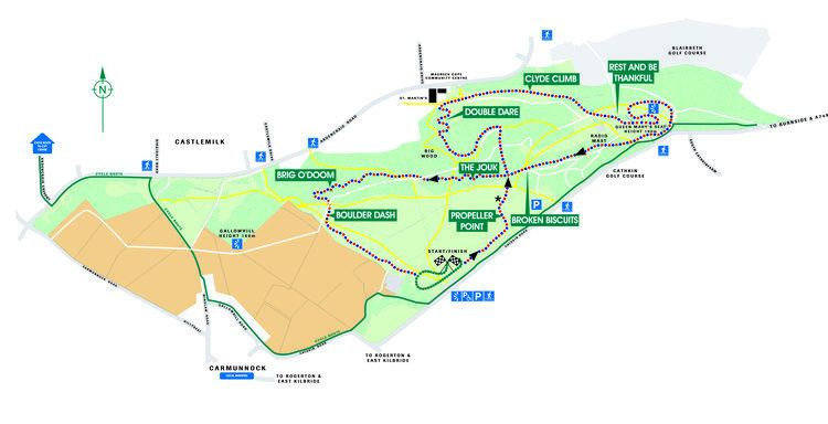Cathkin Braes Cathkin Braes Country Park Riders Where to ride Developing