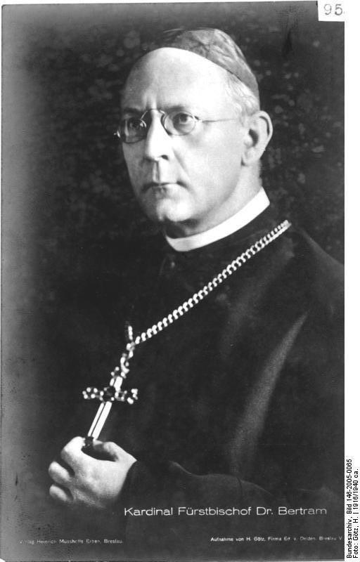 Catholic bishops in Nazi Germany