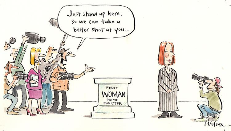Cathy Wilcox CATHY WILCOX Cartooning for Peace