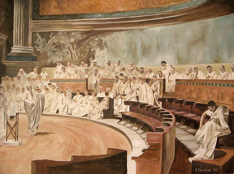 Catiline Cicero Denounces Catiline by MrErixon on DeviantArt
