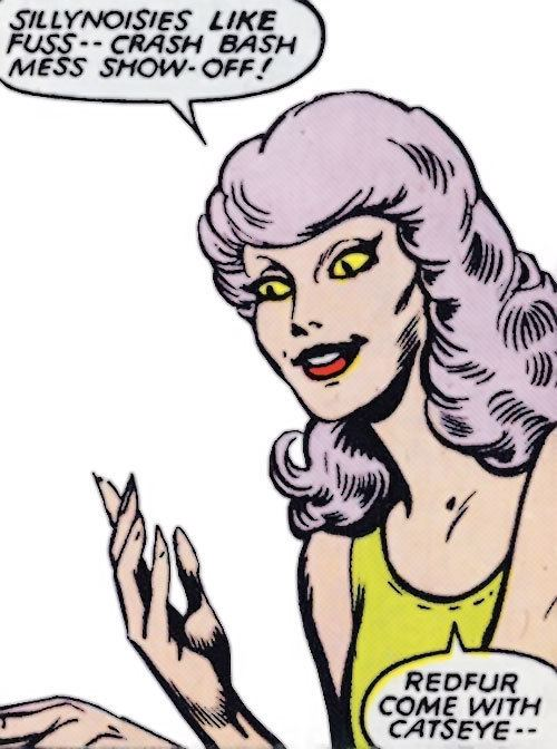 Catseye (comics) Catseye Marvel Comics Hellions Sharon Smith Character