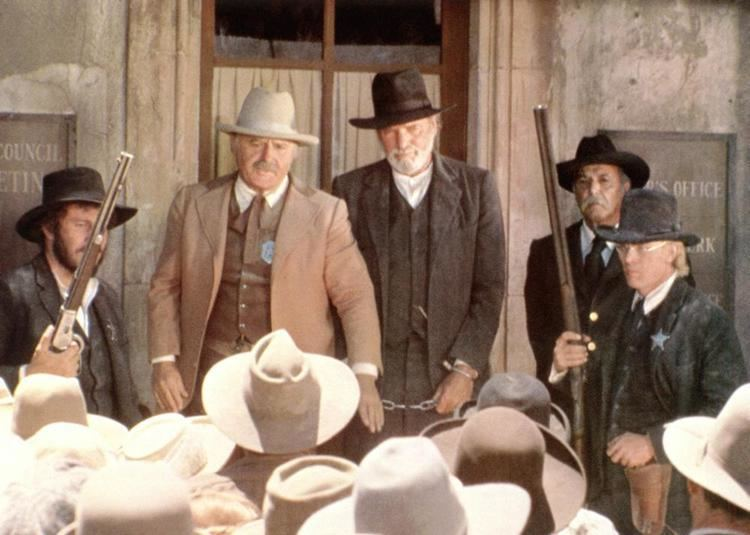 Cattle Annie and Little Britches movie scenes CATTLE ANNIE AND LITTLE BRITCHES Rod Steiger Burt Lancaster 1981 c