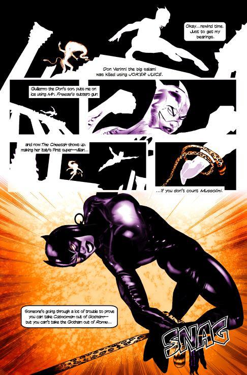 Catwoman: When in Rome catwoman when in rome pg3 by TomKellyART on DeviantArt