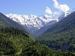 Caucasus Mountains httpsuploadwikimediaorgwikipediacommonsthu