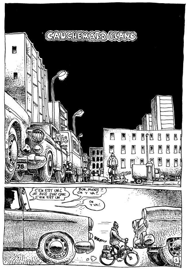 Cauchemar Blanc la bande dessine memmerde Cauchemar Blanc de Matthieu Kassovitz