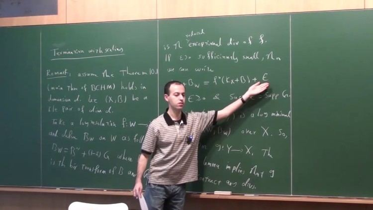 Caucher Birkar Lectures on birational geometry 15 by Caucher Birkar YouTube