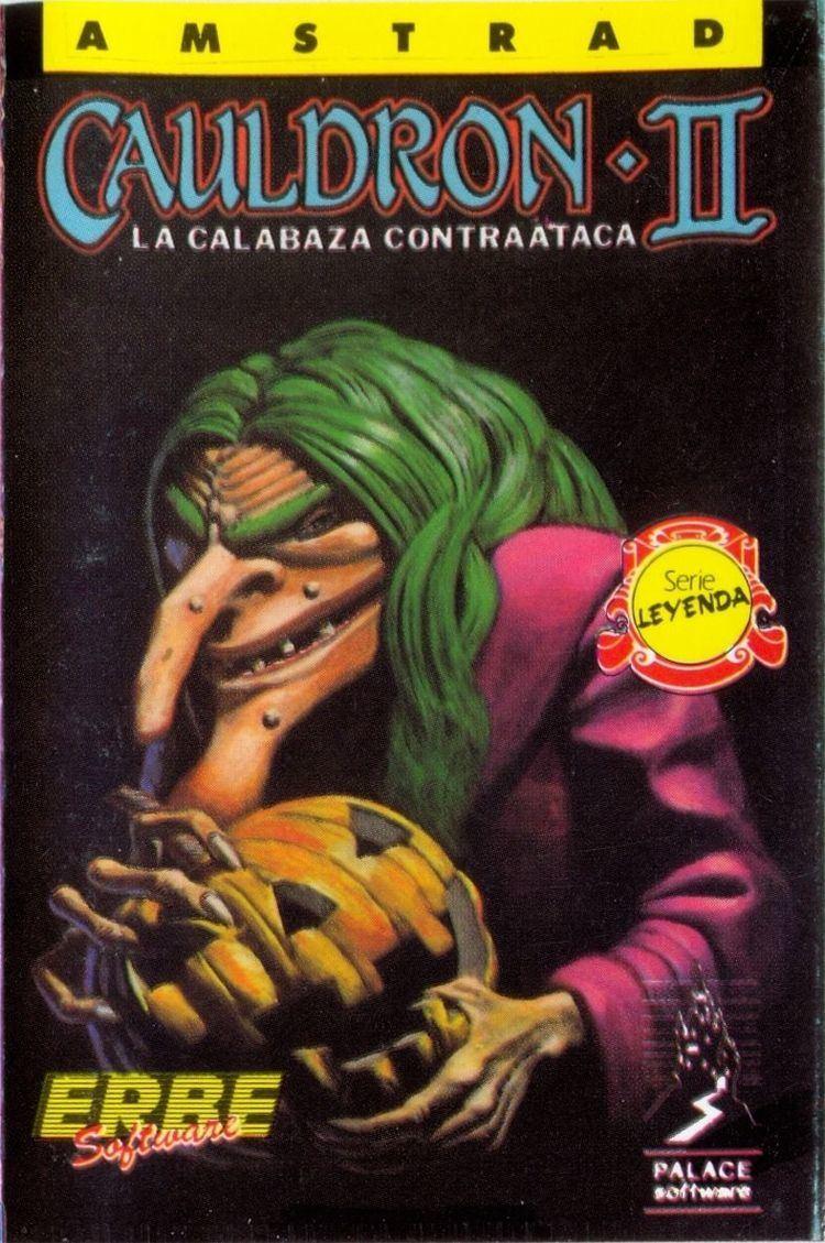 Cauldron II: The Pumpkin Strikes Back Cauldron II The Pumpkin Strikes Back 1986 Amstrad CPC box cover